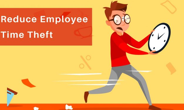 How can you reduce employee time theft?